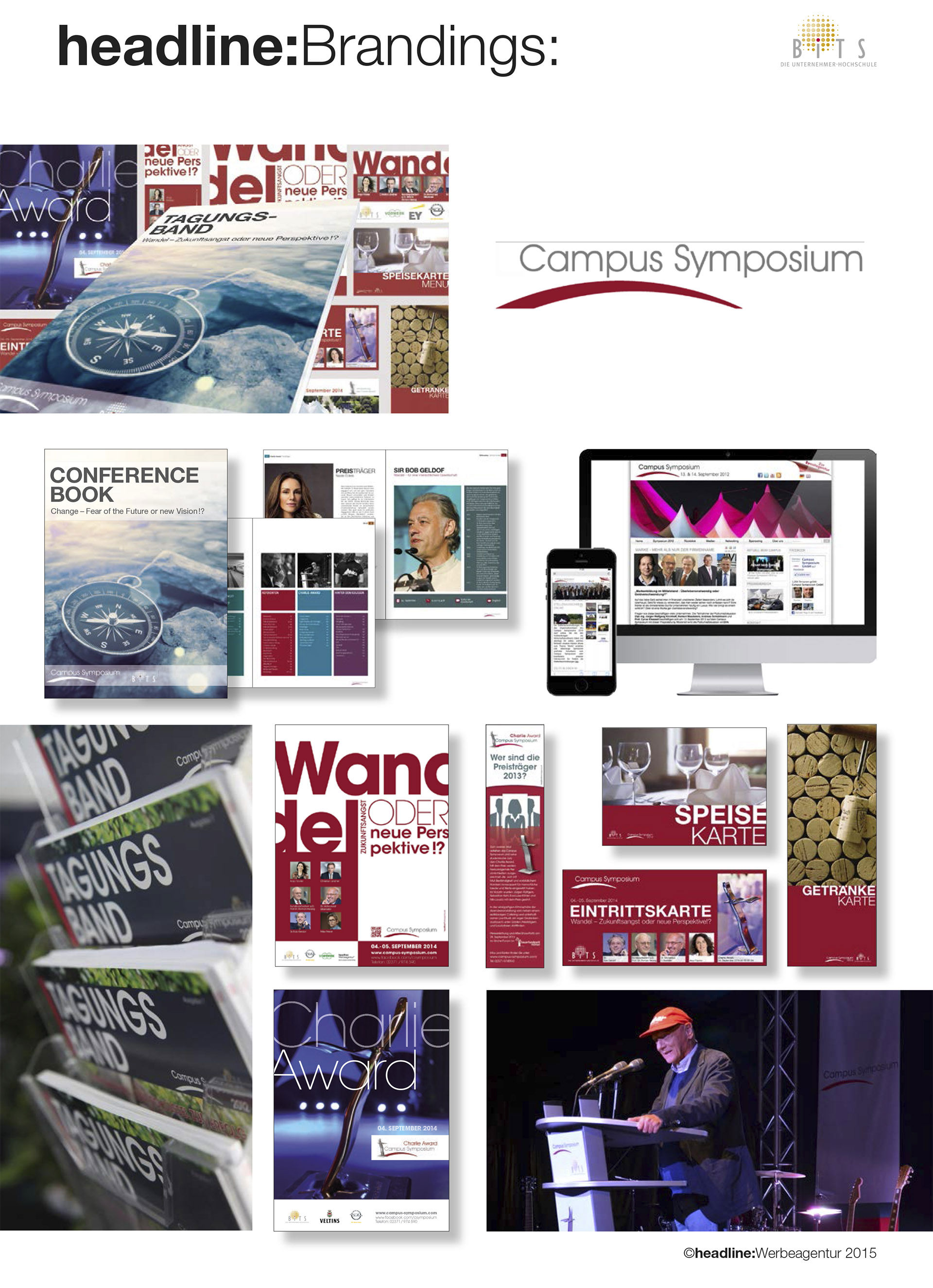 Das Campus Symposium Branding by headline