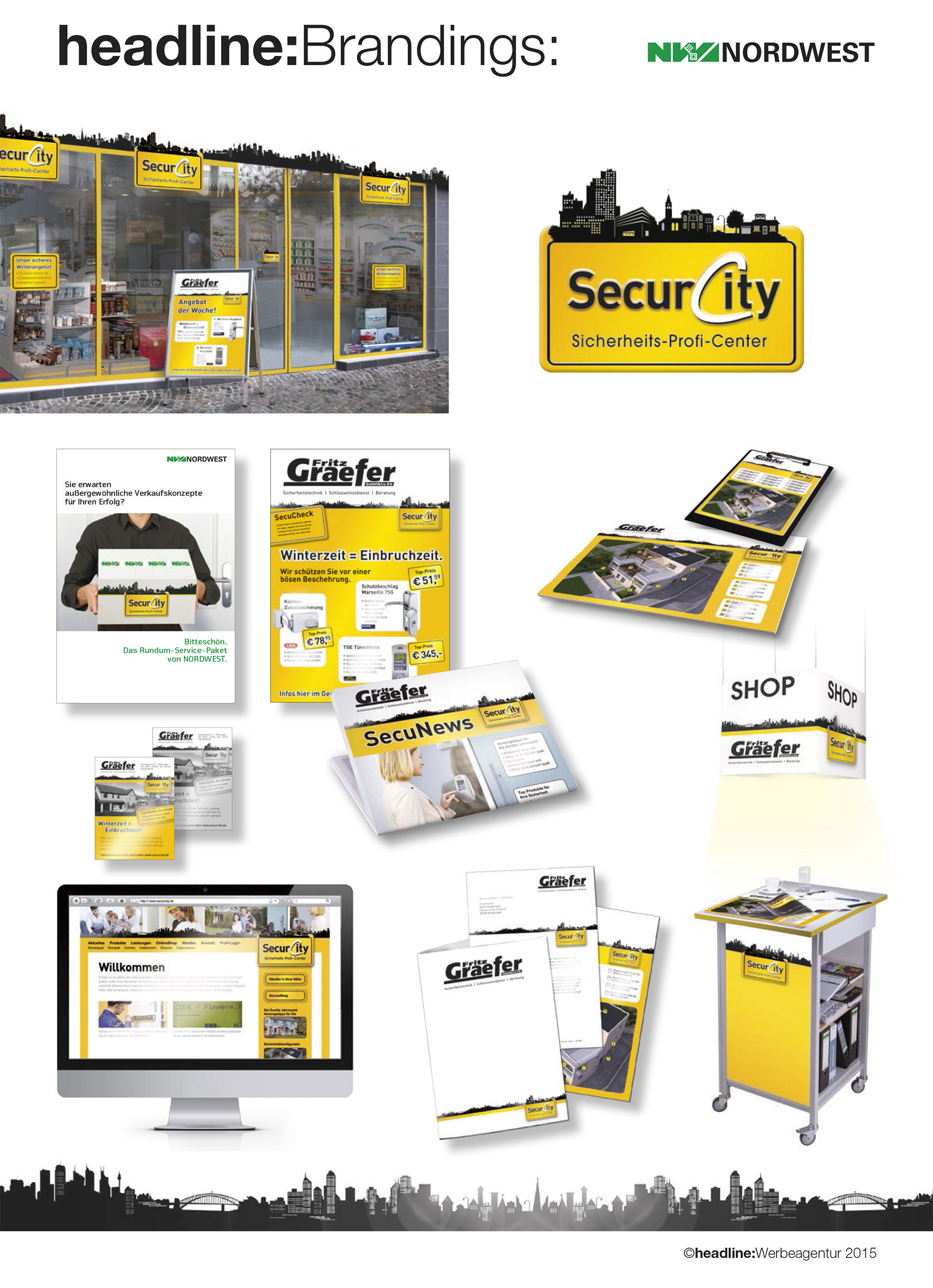 Das Securcity Branding by headline